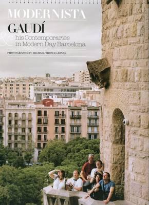 Modernista: Gaudi & His Contemporaries in Modern Day Barcelona (Hardback)