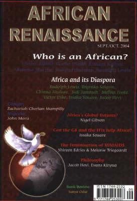 African Renaissance: September / October 2004 (Paperback)