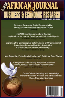 African Journal of Business and Economic Research Vols 2&3, 2006 (Paperback)