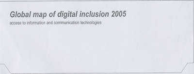 Global Map of Digital Inclusion 2005: Access to Information and Communication Technologies (Sheet map, folded)