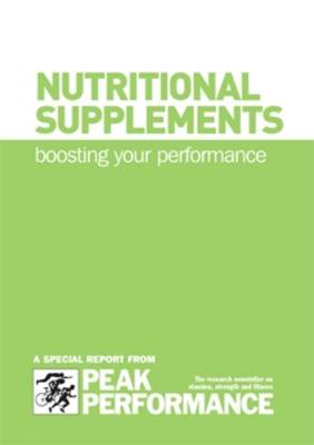 Nutrional Supplements: Boosting Your Performance (Spiral bound)