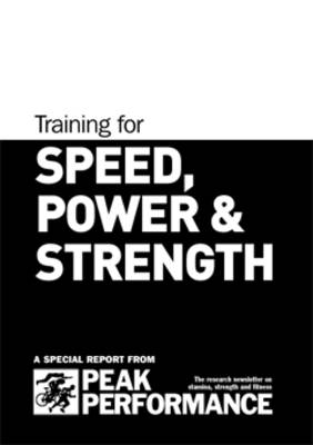 Training for Speed, Power and Strength (Spiral bound)