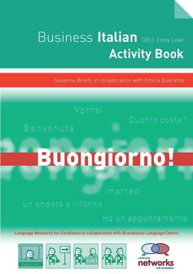 Entry Level Certificate of Business Language Competence (CBLC): Student Activity Book: Italian (Spiral bound)