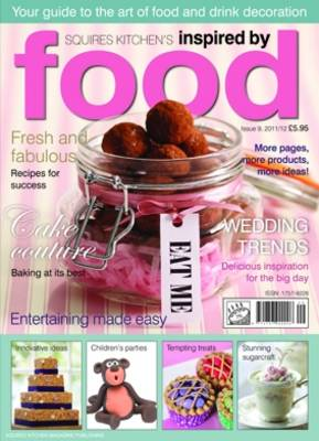 Inspired by Food: A Guide to the Art of Food and Drink Decoration - Squires Kitchen's Inspired by Food 9 (Paperback)