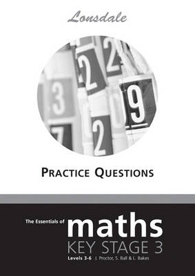 KS3 Maths Levels 3-6 Practice Questions - Lonsdale KS3 Maths (Paperback)