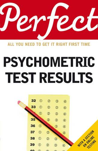 Perfect Psychometric Test Results (Paperback)