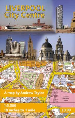 Liverpool City Centre (Sheet map, flat)