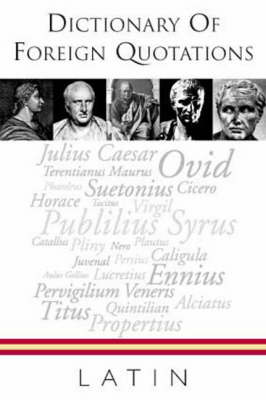 Quote Unquote - Latin (Paperback)