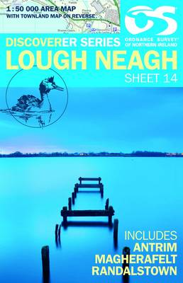 Lough Neagh - Irish Discoverer Series Sheet 14 (Sheet map, folded)