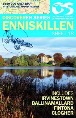 Enniskillen - Irish Discoverer Series Sheet 18 (Sheet map, folded)