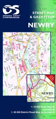 Newry and Mourne - Irish Street Maps (Sheet map, folded)