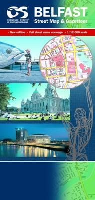 Belfast Street Map - Irish Street Maps (Sheet map, folded)