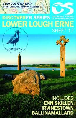 Lower Lough Erne - Irish Discoverer Series Sheet 17 (Sheet map, folded)