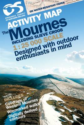 Mournes Activity (inc Croob) (Sheet map, folded)