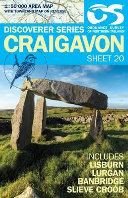 Craigavon - Irish Discoverer Series Sheet 20 (Sheet map, folded)