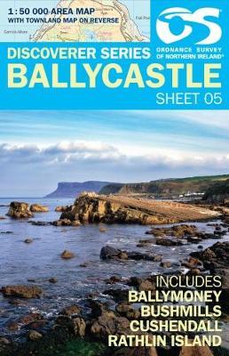Ballycastle - Irish Discoverer Series Sheet 5 (Sheet map, folded)