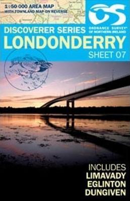 Londonderry - Irish Discoverer 7 (Sheet map, folded)