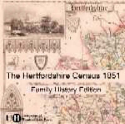 Hertfordshire Census 1851: Family History Edition (CD-ROM)