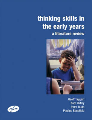 Thinking Skills in the Early Years: A Literature Review (Spiral bound)