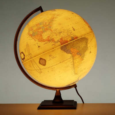 Bradley Illuminated Globe: 1274EA
