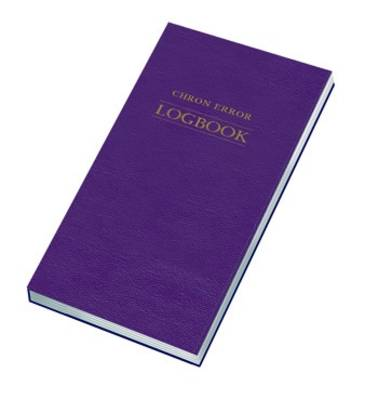 Chron Error Logbook - Log Books No. 3 (Paperback)