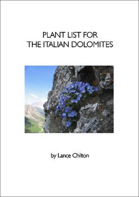 Plant List for the Italian Dolomites (Paperback)