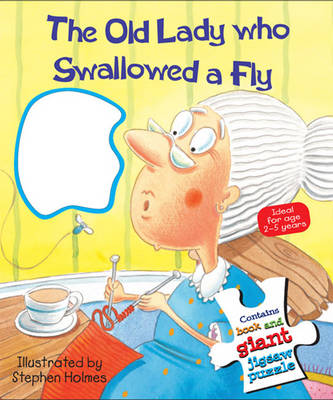 The Old Lady Who Swallowed a Fly (Board book)