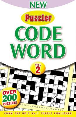 Puzzler Code Word: Volume 2 (Paperback)