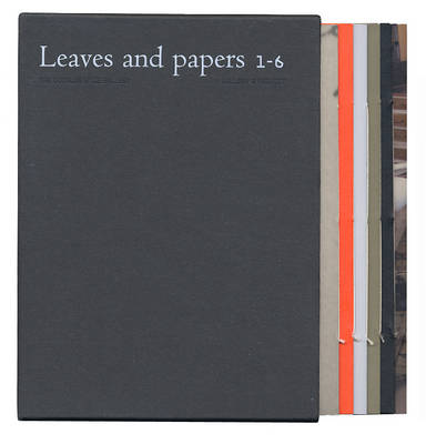 Leaves and Papers 2008: No. 1-6: A Gallery 3 Project (Hardback)