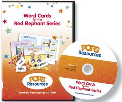 Word Cards for the Red Elephant Series: Teaching Resource - Red Elephant Series (CD-ROM)