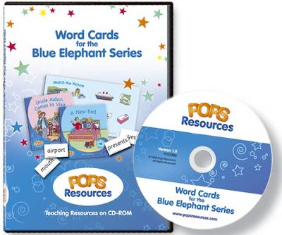 Word Cards for the Blue Elephant Series: Teaching Resource - Blue Elephant Series (CD-ROM)