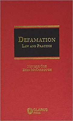 Defamation: Law and Practice (Hardback)