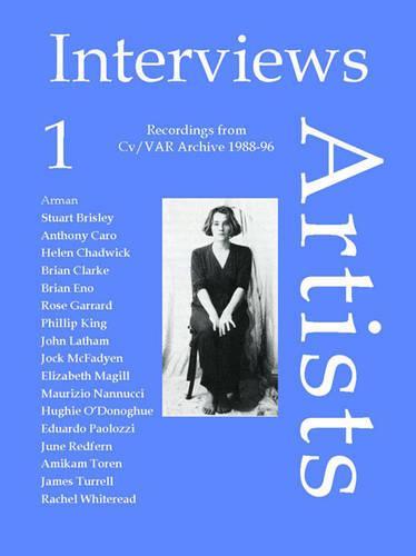 Interviews-Artists: v. 1: Recordings from Cv/Visual Arts Research Archive 1988-96 - CV/Visual Arts Research 2 (Book)
