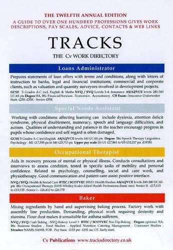 Tracks 2009 2009: The CV Work Directory - Tracks Directory S. v. 12 (Paperback)