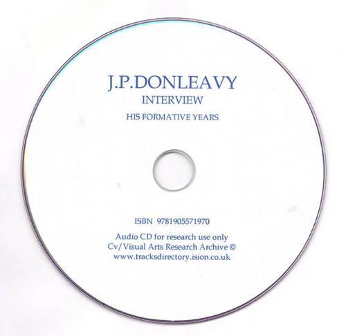 J.P.Donleavy Interview (CD-Audio)
