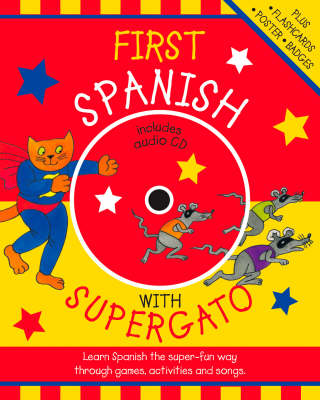 First Spanish with Supergato (Paperback)