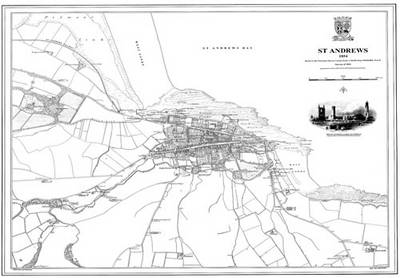 St Andrews 1854 Map - Heritage Cartography Victorian Town Map Series No. 175 (Sheet map)