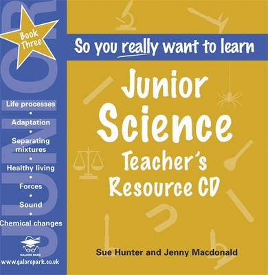 Junior Science: Teacher's Resource Bk. 3 (CD-Audio)