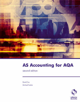 AS Accounting for AQA - Accounting & Finance (Paperback)