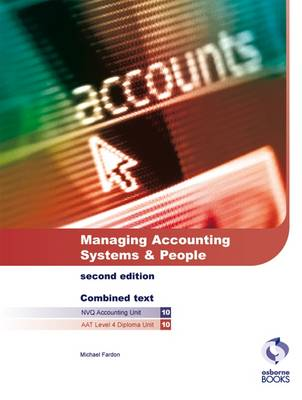 Managing Accounting Systems and People - AAT/NVQ Accounting S. (Paperback)