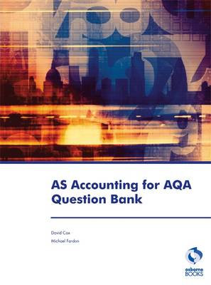 AS Accounting for AQA Question Bank - Accounting & Finance (Paperback)