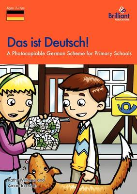 Das ist Deutsch!: A Photocopiable German Scheme for Primary Schools (Paperback)