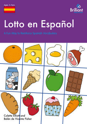Lotto en Espanol: A Fun Way to Reinforce Spanish Vocabulary (Paperback)