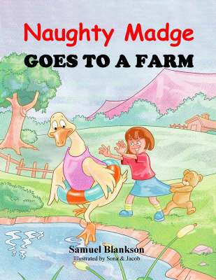 Naughty Madge Goes to a Farm (Paperback)