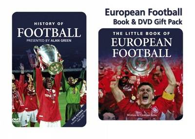 European Football Book and DVD Gift Pack