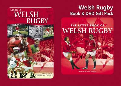 Welsh Rugby Book and DVD Gift Pack