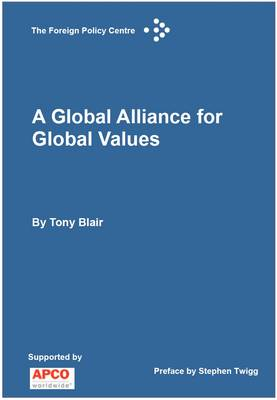 A Global Alliance for Global Values (Paperback)