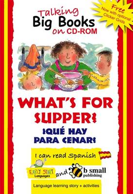 Early Start Big Book CD-ROM What's for Supper? Spanish (CD-ROM)