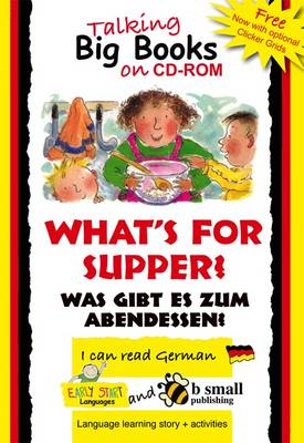 Early Start Big Book What's for Supper? German (CD-ROM)