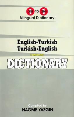 English-Turkish & Turkish-English One-to-One Dictionary (Hardback)